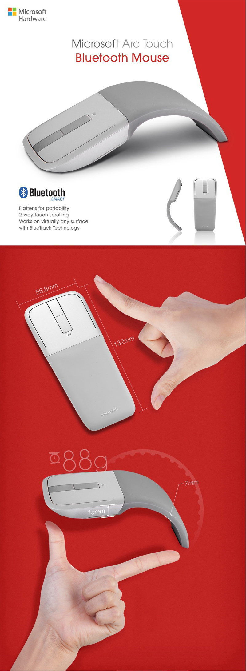 Download FreeArc Touch Bluetooth Mouse Driver Windows 10