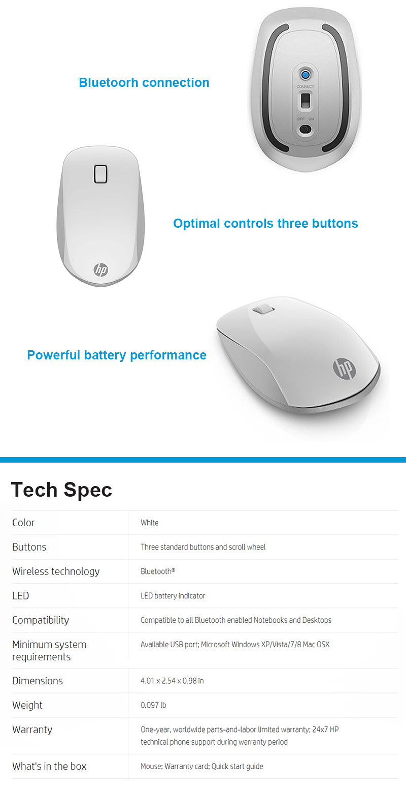 genuine hp z5000 bluetooth wireless mouse ultra slim 3 hp mouse hp mouse driver hp wireless mouse hp bluetooth mouse hp wireless keyboard and mouse mouse wireless mouse hp mouse drivers computer mouse logitech