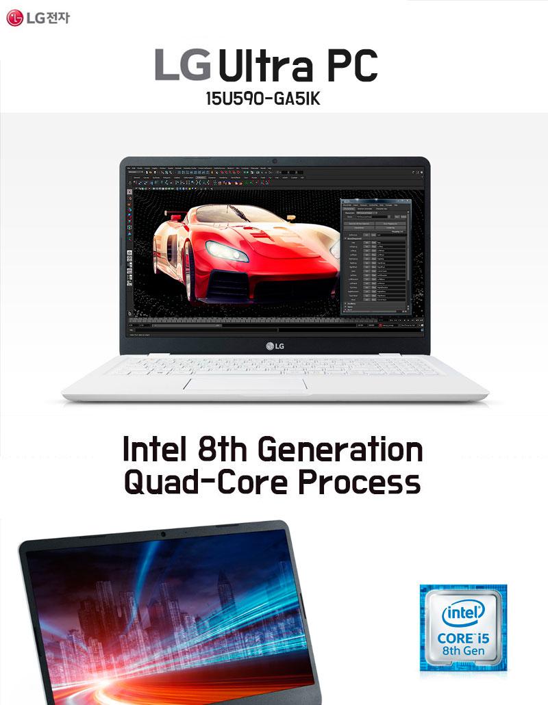 LG 15U590-GA5IK Ultra PC Laptop Notebook / SSD 256GB + HDD 1TB i5 FHD
